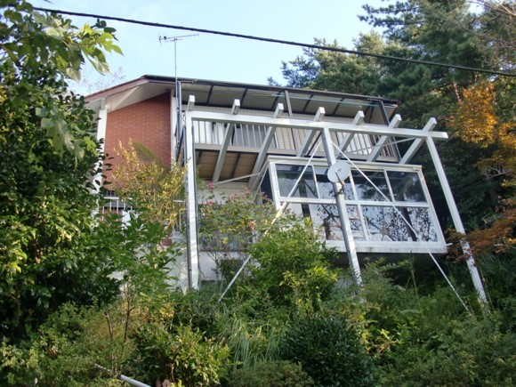 築40年中古住宅にサンルームを設置