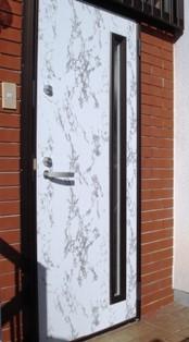 ドアのDIYリフォーム