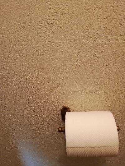 リフォームしたトイレの壁
